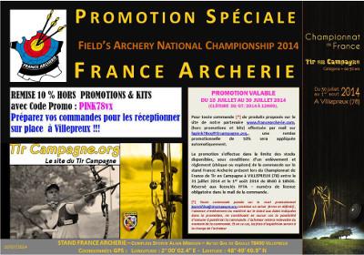 Promotion France Archerie